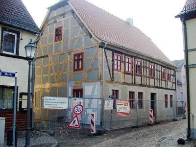 Fachwerkhaus in Übigau